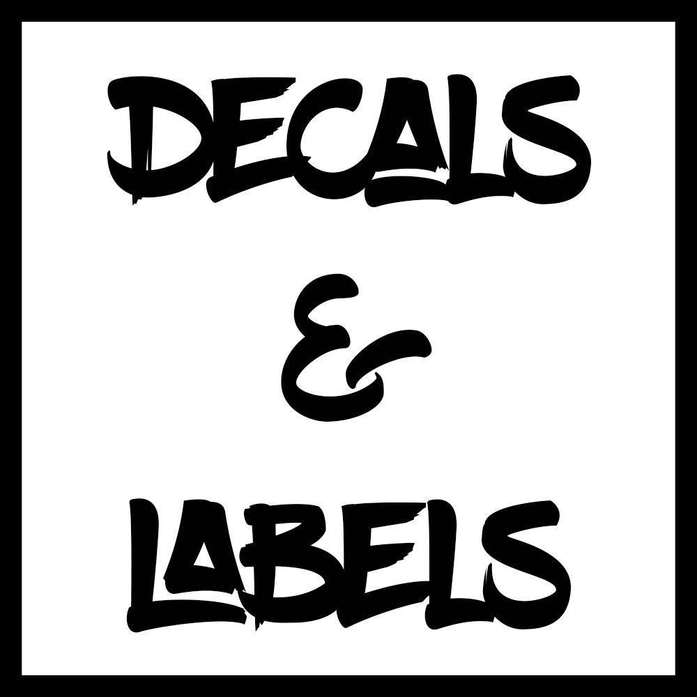 Decals & Labels